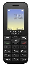 Alcatel One Touch 1016D Dual Black ENG