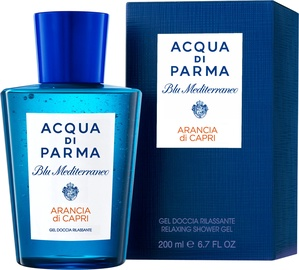 Acqua Di Parma Blu Mediterraneo Arancia Di Capri 200ml Relaxing Shower Gel