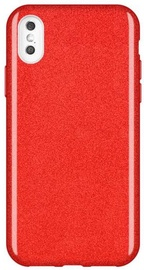 Wozinsky Glitter Shining Back Case For Apple iPhone XS Max Red