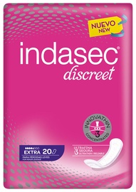 Indasec Discreet Pads 20pcs Extra