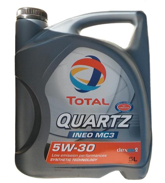 Motoreļļa Total Quartz Ineo MC3 5W30, 5l