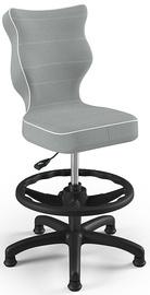 Entelo Petit Black HC+F Size 4 Children Chair JS03 Black/Grey