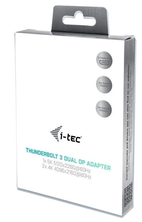 i-Tec Thunderbolt 3 Dual Display Port Adapter