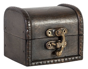 Home4you Chest BAO-2 8x7x6.5cm Brown