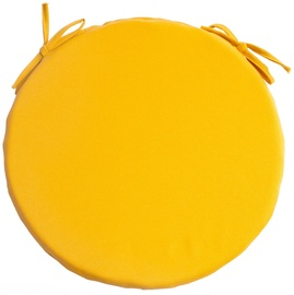 Home4you Frankfury 2 Chair Pad 38cm Yellow