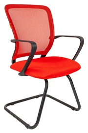 Офисный стул Chairman 698 TW-69, красный