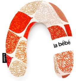 La Bebe Rich Cotton Nursing Maternity Pillow Deco Orange 85500