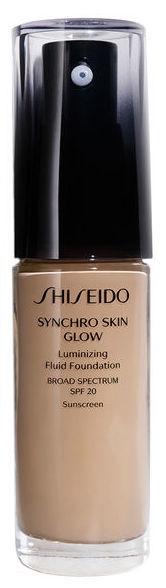Shiseido Synchro Skin Glow Luminizing Fluid Foundation SPF20 30ml N4