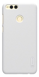 Nillkin Super Frosted Shield Back Case With Screen Protector For Huawei Honor 7X White