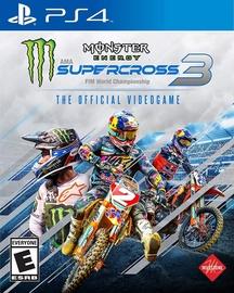 Monster Energy Supercross 3 PS4