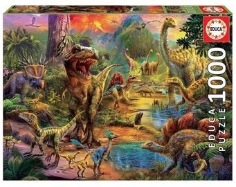 Educa Borras Puzzle Land Of Dinosaurs 1000pcs