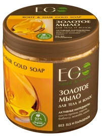 Dušas gēls ECO Laboratorie Body And Hair Gold Soap, 450 ml