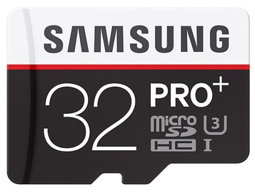 Samsung 32GB Micro SDHC PRO+ Memory Card Class 10 + Adapter