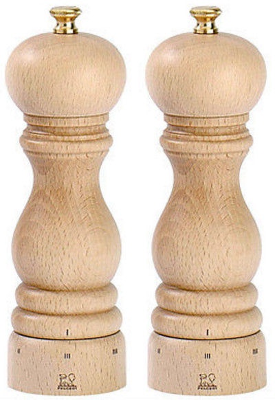 Peugeot Saveurs Paris Salt and Pepper Mill Natural 18cm