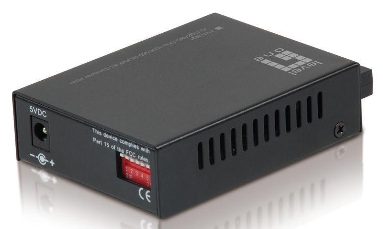 LevelOne RJ45 To SC Fast Ethernet Media Converter FVT-2401