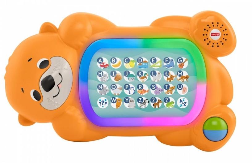 Interaktyvus žaislas Fisher Price Linkimals A To Z Otter GKC32, EN