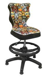 Entelo Petit Black HC+F Size 4 Children Chair ST28 Animals