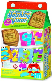 Galda spēle 4M Fun Biscuit Shaped Matching Game Magic 10 04645, EN