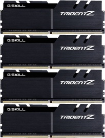 G.SKILL Trident Z Black 64GB 3200MHz CL16 KIT OF 4 F4-3200C16Q-64GTZKW
