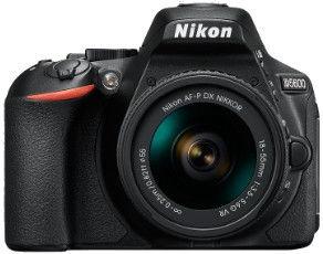 Peegelkaamera Nikon D5600 AF-P DX 18-55mm VR