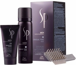 Wella Professionals Sp Men Gradual Tone Black Foam 60ml & 30ml Shampoo