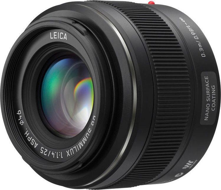 6d9ccd374a5 Panasonic Leica DG 25mm f/1.4 Summilux ASPH Black