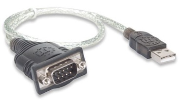 Manhattan Adapter USB to Serial Converter 0.45m