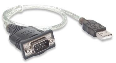 Адаптер Manhattan Adapter USB to Serial Converter 0.45m