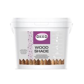 Impregnantas Okko Wood Shade, juodas, 1 l