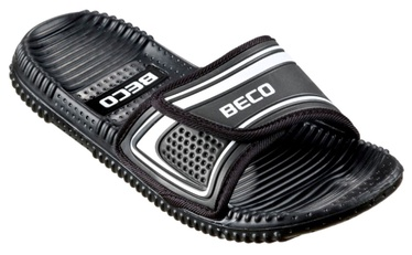 Beco 90601 Massage Slippers Black Silver 42