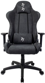 Spēļu krēsls Arozzi Torretta Soft Fabric Dark Gray