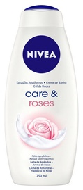 Dušo želė Nivea Care & Roses, 750 ml