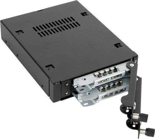 Icy Dock EX-Secure ToughArmor MB492TKL-B Micro Tray Black