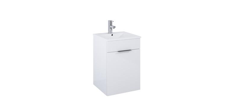 Шкаф для ванной Elita Qubo 40, белый, 47x47x66 см