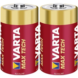 Varta Max Tech Batteries C x2