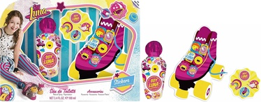 Disney Soy Luna 100ml EDT + Lace Decorations + Stickers