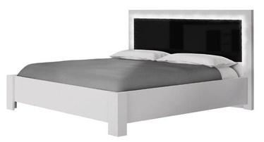 Lova Idzczak Meble Roma White/Black, 160 x 200 cm