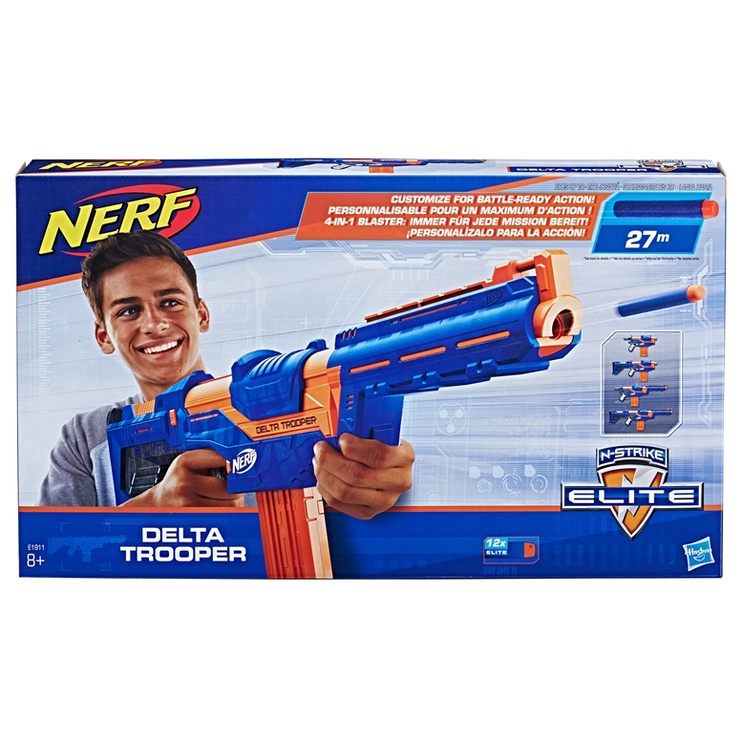 Rotaļlietu ierocis Hasbro Nerf Delta Trooper E1911