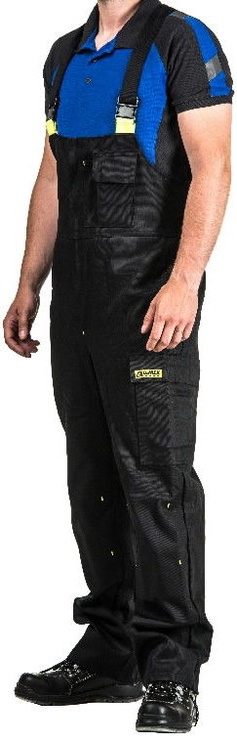 Dimex 2191 Welder Overall Black/Yellow M