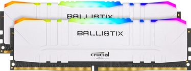 Crucial Ballistix RGB White 64GB 3200MHz CL16 DDR4 KIT OF 2