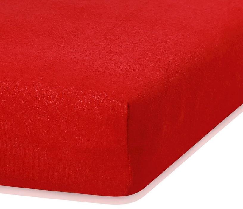 Palags AmeliaHome Ruby, sarkana, 180x200 cm, ar gumiju