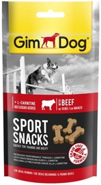 Gimborn Gimdog Sport Snacks With Beef 60g