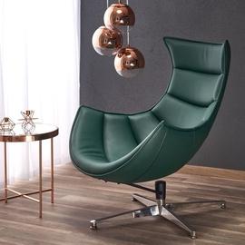Fotelis Halmar Luxor Green, 84x86x96 cm