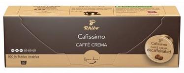 Tchibo Cafissimo Caffe Crema Decaffeinated 10 Capsules