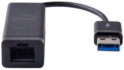 Dell SuperSpeed USB To Gigabit Ethernet Adapter Black