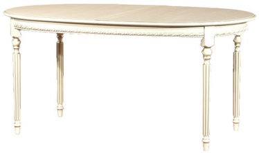 Uta Dinner Table ALT 24-14M White