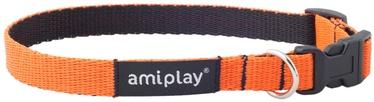 Ошейник Amiplay Twist, oранжевый, 400 мм