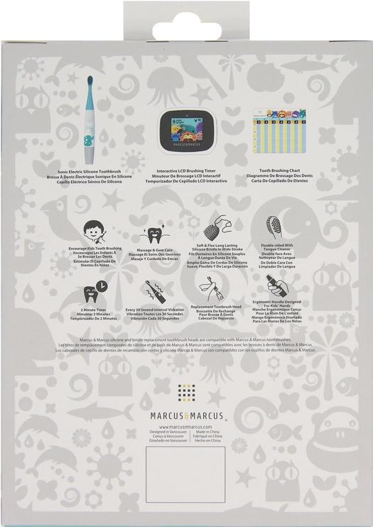 Marcus & Marcus Interactive Sonic Silicone Toothbrush Set Lola