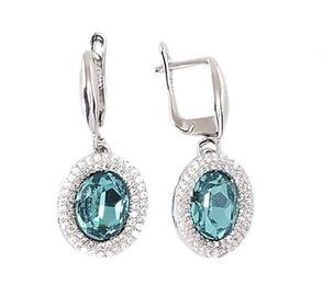 Diamond Sky Earrings Masterpiece II With Swarovski Crystals