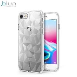Blun 3D Prism Shape Case For Xiaomi Redmi Note 7 / Note 7 Pro Transparent